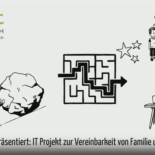 Video zur Vorstellung des Projekts zu Vereinbarkeit von Familie und Beruf