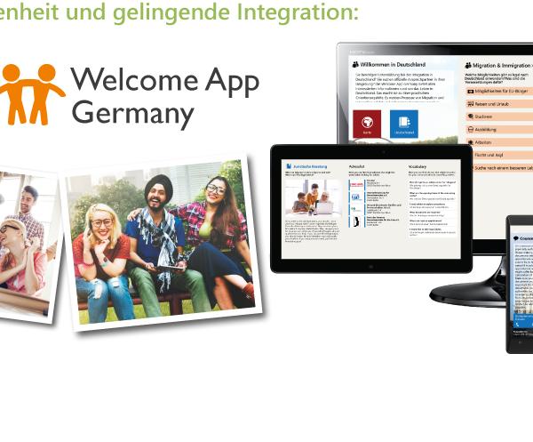 Unsere Projekte für ein besseres Zusammenleben – 3 Jahre Welcome-App und nun Familie-und-Beruf